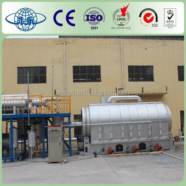 Environmental Friendly Tyre Pyrolysis Machinery