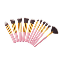 Best Selling Product Private Label Oval Makeup Brushes Fashion cosmetic tool black foundation brush make up brushes