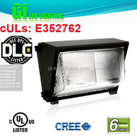 6 years warranty DLC Ul Ip65 Led Wall Pack Led Tunnel Light with Patents