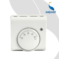SAIP/SAIPWELL 220V 10A Floor Heating Thermostat