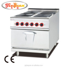 Stainless Steel Electric Hotplate Cooking Range with Oven (EH-887A)