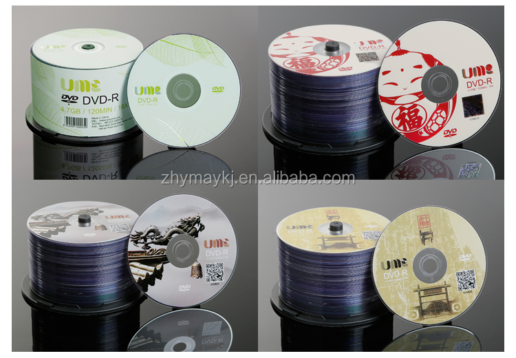 Manufacturer wholesale Good Compatibility Blank DVD-R 4.7GB for music