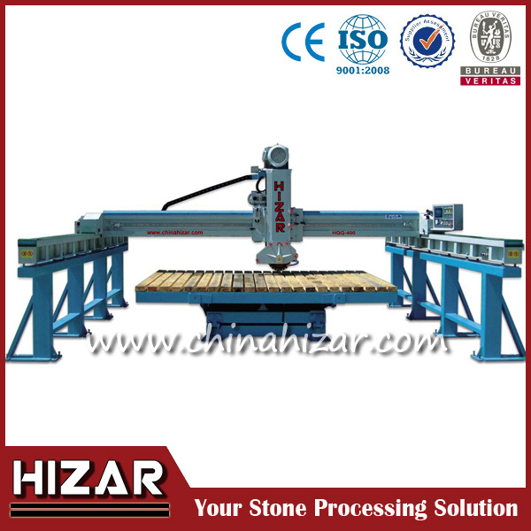 Granite and marble stone mitre saw machine,bridge saw tilt table