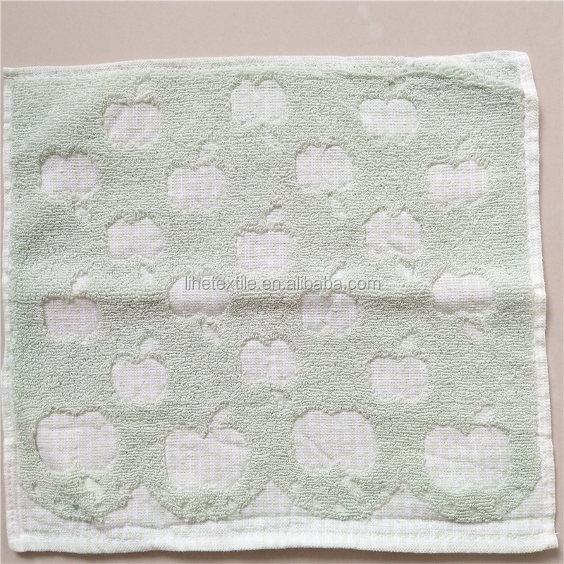 100% Cotton Wash Cloth Small Baby Face Towel
