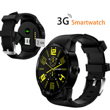 Android 4.4 Dual Core WCDMA 3G Touch Screen GPS Sports Smart Wrist Watch For K98H