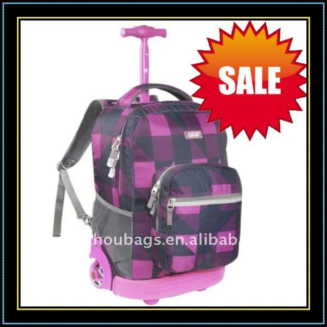 2011 New Style Hannah Montana School Bag Trolley