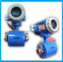 Sanitary type tri-clamp food industry milk juice electromagnetic flow meter