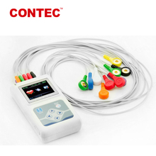 12 Channel Holter ECG device with LCD Display ECG monitor