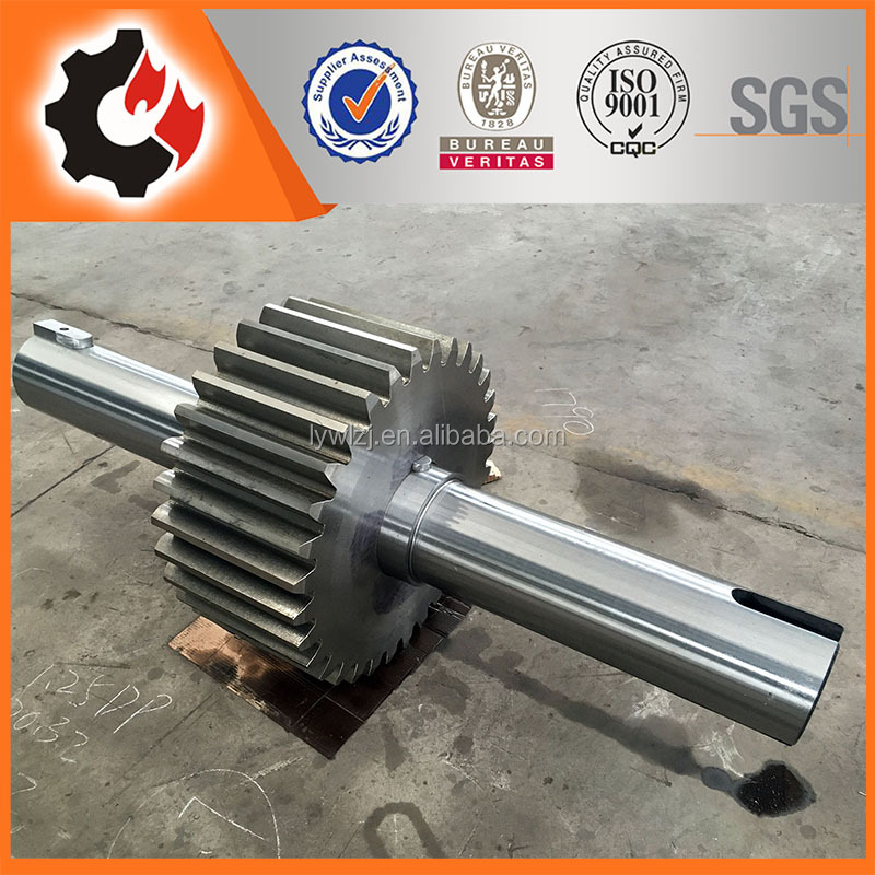 OEM 4140 Forging Spur Gear Shaft