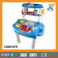Fashion new coming realistic kids doctor play set toys