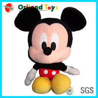 Wholesale cute stuffed plush magnet micky toy & custom mouse toys
