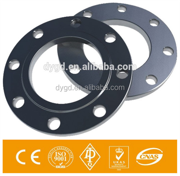 DIN2502 PN16 Stainless Steel 316 Plate Forged Plate Flange RF
