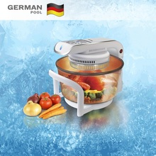 New Experience Wholesales Practical 12Litre 1300W User-Friendly High Penetration Kitchen Turbo Roaster Halogen oven for cooking