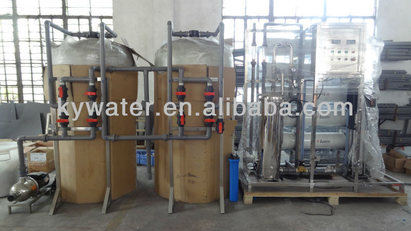 Factory direct sales 5000LPH boiler water treatment system/seawater desalination ro plant
