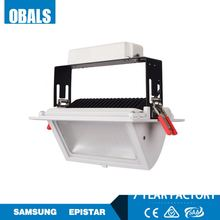 zhongshan Obals 20W adjustable recessed SMD rectangular downlight led saa approved