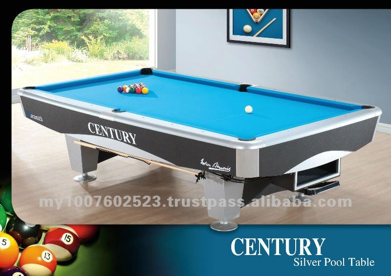Silver Pool table