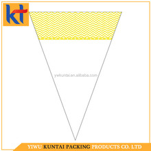 Yiwu factory new style printed free sample transparent popcorn plastic bag.fold top sandwich bag