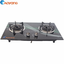Pulse Battery Ignition gas cooker with double burner