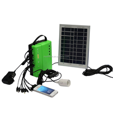 New green energy Outdoor camping 18V Small Solar Lighting Kits Sunlight 3W Portable Solar Power System solar electric power