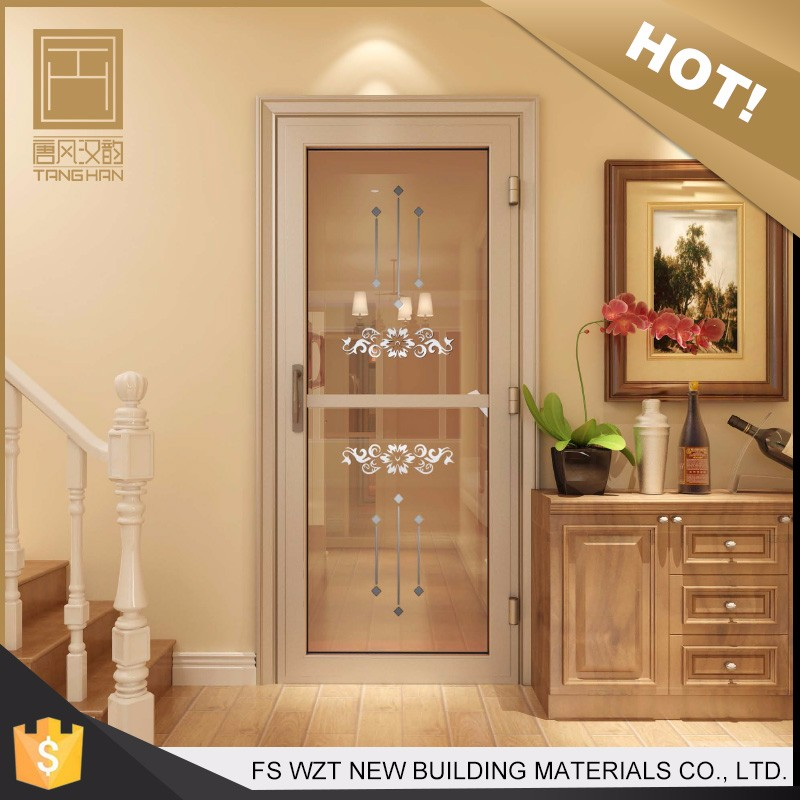 Factory custom durable door with flower designs