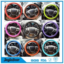 Unique popular steering wheel cover , design your steering wheel cover