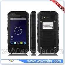 1900 MHz rugged phone full functions with walkie talkie 4.0inch android dual sim smartphone IP68