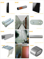 lace pleated window blinds for home or other buildings' motorized venetian blinds produce by NOVO factory in Guangzhou