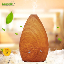 Aromatherapy Essential Oil wood Diffusers with Color LED Lights Changing and Waterless Auto Shut-off Function