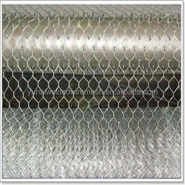 electric hexagonal wire mesh/galvanized hexagonal wire netting/chain link fence