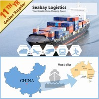Competitive sea freight shipping services to Australia
