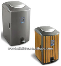 120L Metal Trash Can with Pedal Bulk Trash Cans