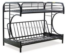 Mordern metal frame double deck bunk bed