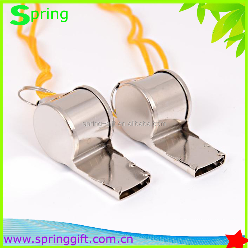 High quality metal stainless steel referee whistle