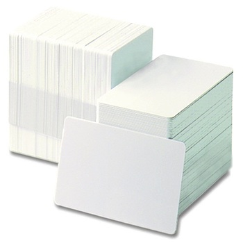Factory price Laminated printable white blank pvc card