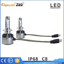 9-36 volt car led headlight with canbus error free function led head light bulb h4 h7 h11 9007 9012 5202 led headlights for cars