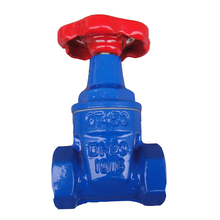 Ductile Iron Resilient seated threaded end Gate Valve