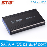 Wholesale price USB 2.0 3.5 inch sata hdd enclosure case