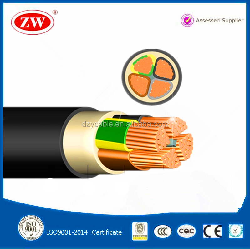 0.6/1kv Low Voltage PVC Insulated Steel Wire Armoured Power Cable