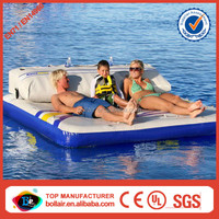 Factory direct cheap price floating inflatable air mattress
