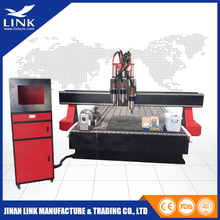 High precision China vacuum or T-slot table DSP or nc studio control system cnc router for wood/cnc wood lathe machine price low