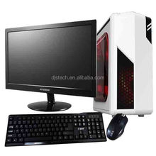 cheap OEM Shenzhen with white projector desktop computer with with monitor and DVD RW support Intel I5 DDR3 1333MHZ