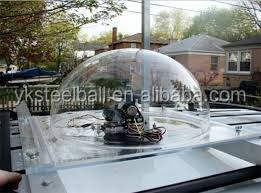 Yuanke clear decoration plastic acrylic dome plexiglass hollow balls