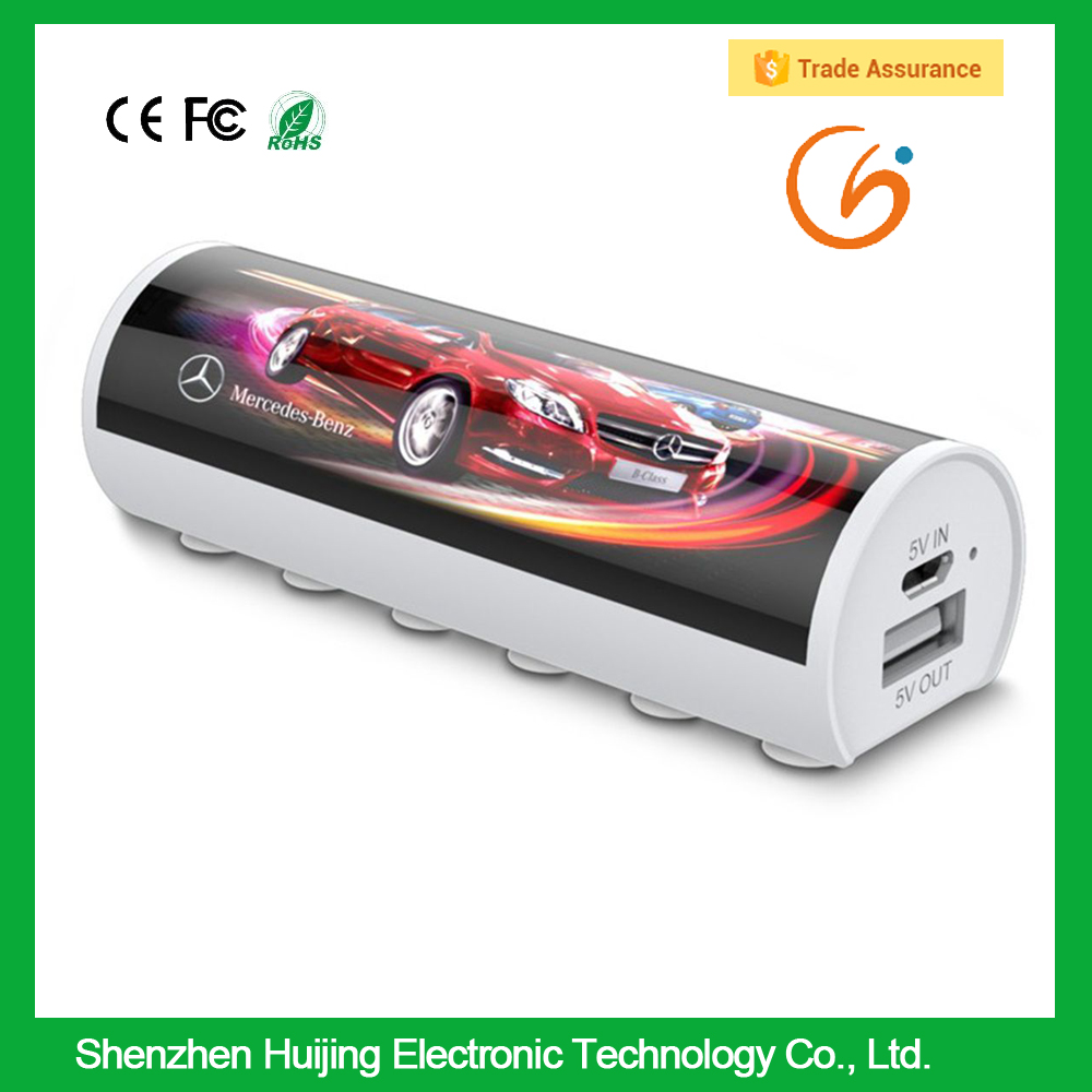 corporate giveaway gift ideas led advertisement new power bank for smartphone