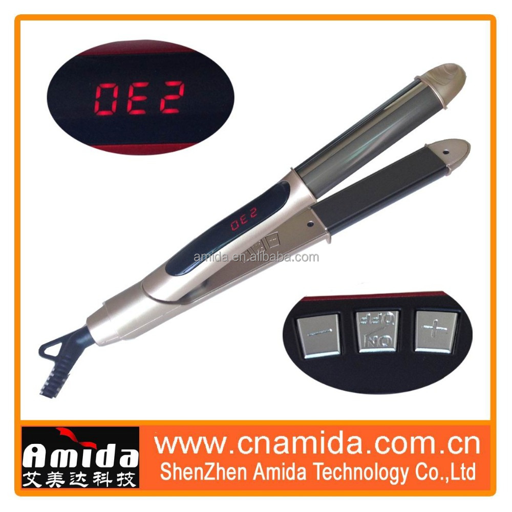 New Design High Quality Modern Flat Iron Nano Titanium HS280