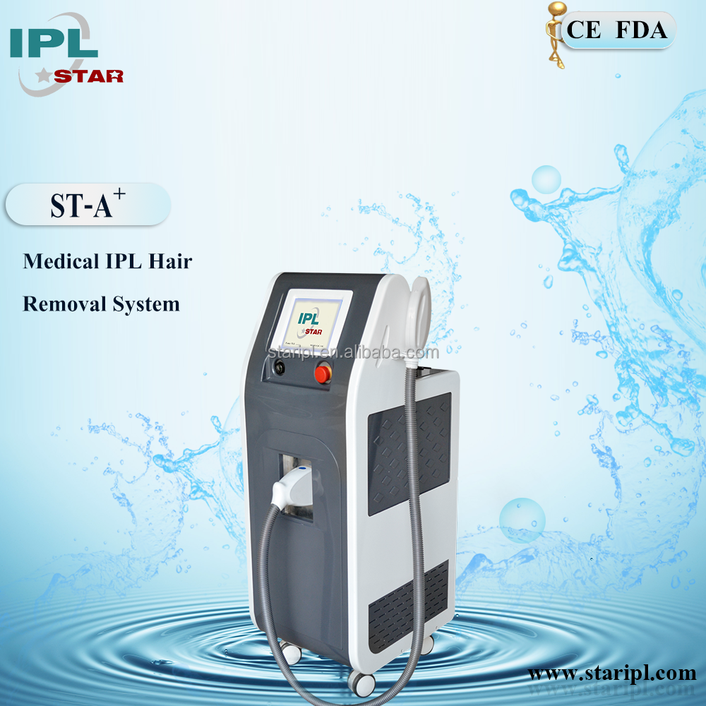 IPL machine with FDA approved for hair removal pigment removal face master