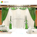 white backdrop wedding drape background wedding