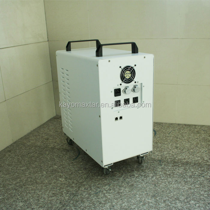 3.2KWh Lithium Battery 2000W solar home generator system