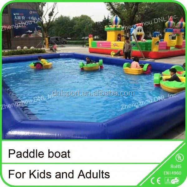 water bikes/pedal boat/paddle boat,paddle boat for kids and adults to amusement