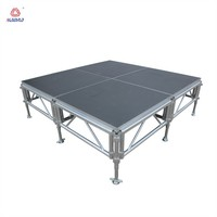 Portable mobile concert aluminum outdoor modular metal stage for event