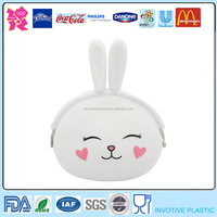 Cartoon Animal Shaped Silicone Jelly Coin
